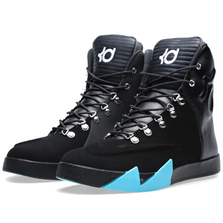 low priced 9f02e 24dd6 nike kd 6 nsw lifestyle uk  nike kd vi nsw lifestyle leather qs. black