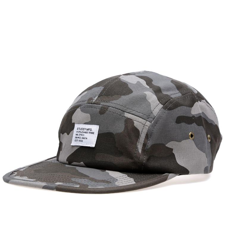 7c543899ffe Stussy Camo Camp Cap (Charcoal)