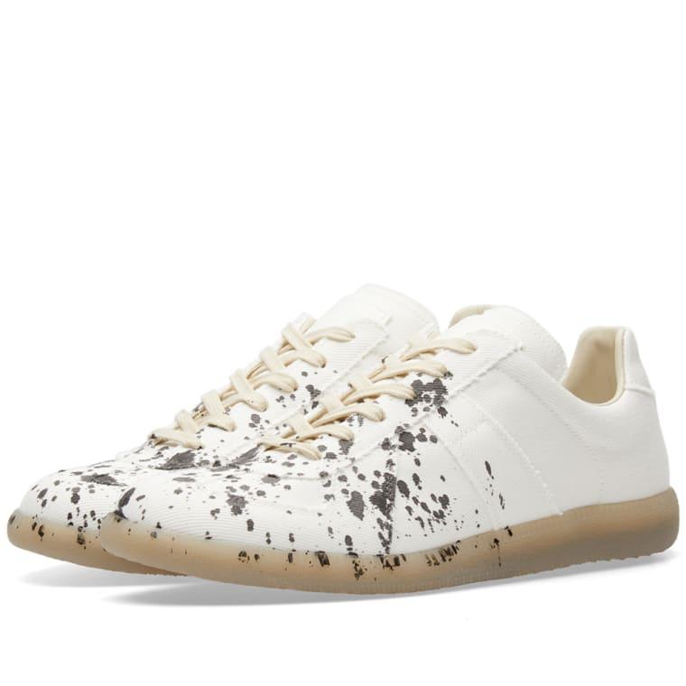 Maison MargielaLeather Sneakers Gr. EU 45