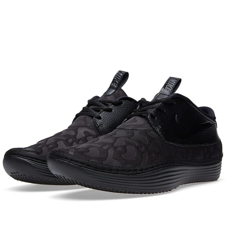 ca44439a13e2 Nike Solarsoft Moccasin PO QS (Black)