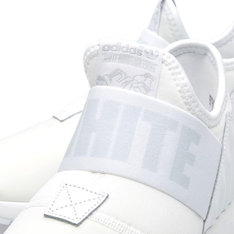 adidas x white mountaineering zx flux plus white 4