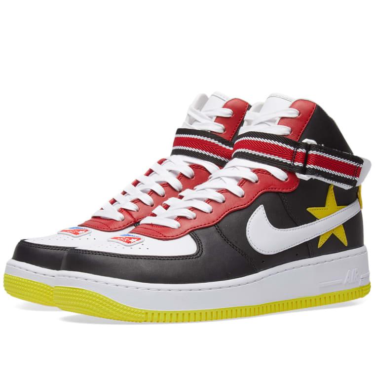 quality design 4cef9 0dd15 ... discount nike x riccardo tisci air force 1 high gym red yellow black  white 92721 d6dc4