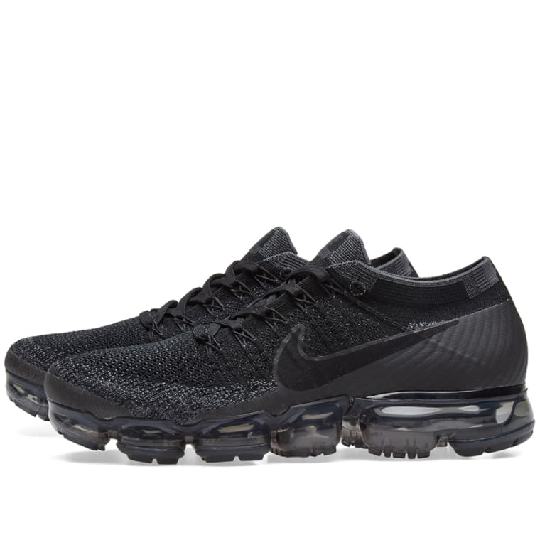 Nike Air Vapormax Flyknit W Black Anthracite Amp Dark Grey