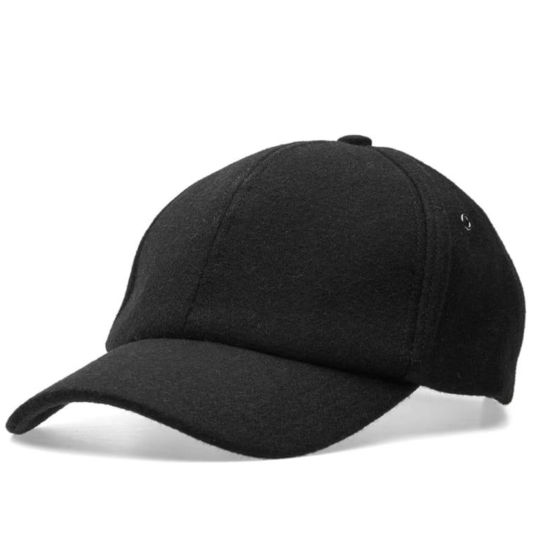 Paul Smith Melton Wool Cap (Black)  98f744287cd