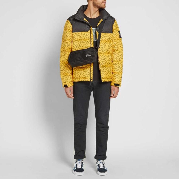 ... cheap the north face 1992 nuptse jacket yellow dome print 9 c2b05 73eee da8d11262394