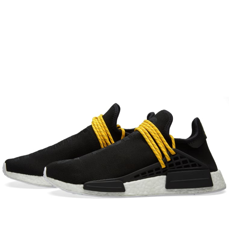 c80d6a025 Pharrell x Adidas NMD HU Trail  Noble Ink  and  Core Black  Release
