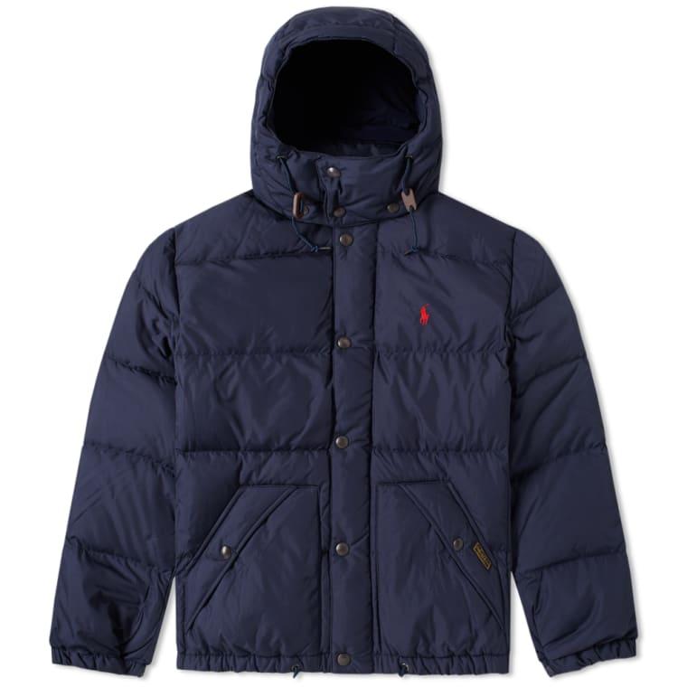 Polo Ralph Lauren Elmwood Down Jacket Navy flat 1