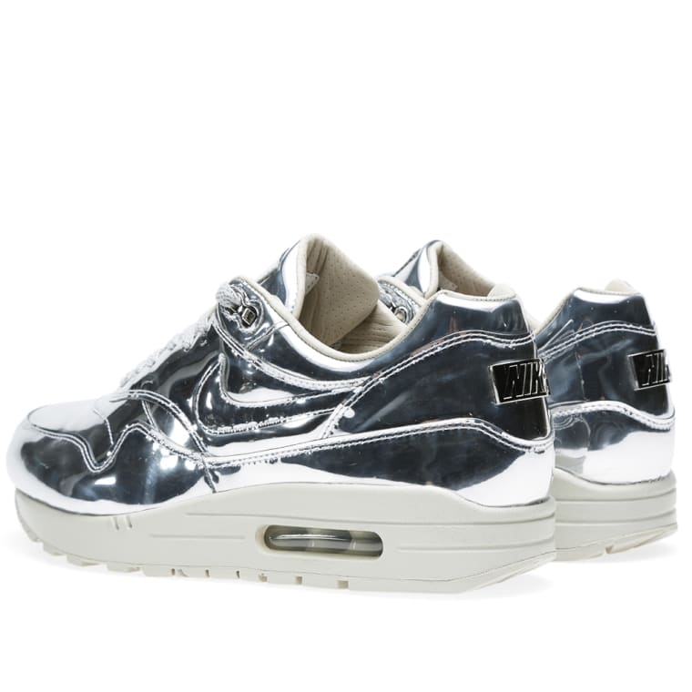 76ca98ac ... amazon nike air max 1 sp liquid silver metallic silver light bone 4  d28b2 e03e8