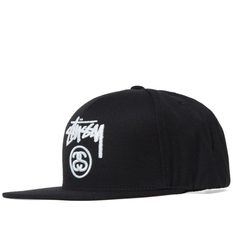 Stussy Stock Lock HOL16 Snapback Cap (Black)  a83fcbe68feb