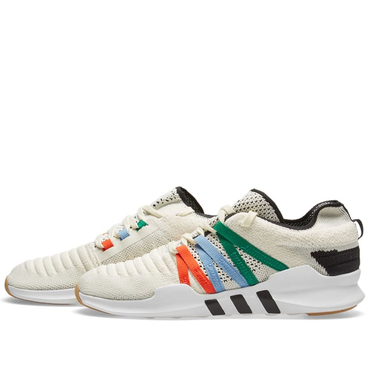 18a11b5bbf ... Adidas EQT Racing ADV PK W White, Orange Black ...