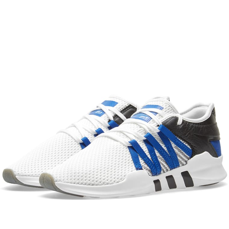 Moncler Black & Blue EQT Racing Adv Sneakers
