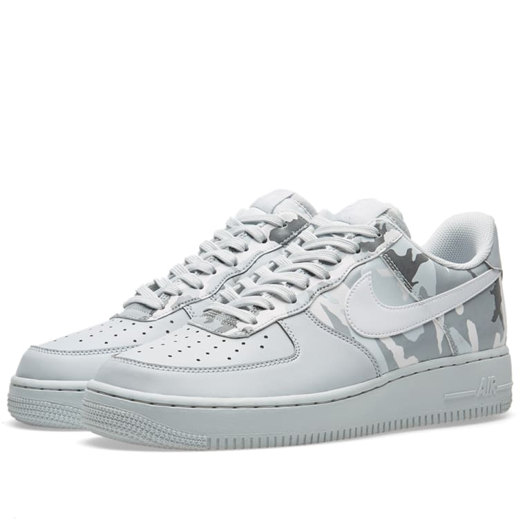 various colors ca44e 7e94d ... where to buy nike air force 1 07 lv8 half camo pure platinum white grey  1