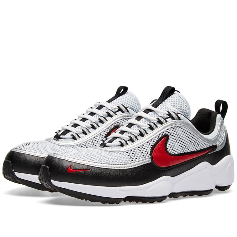 Nike Air Zoom Spiridon W (Pure Platinum   Desert Red)  14e4cbc62