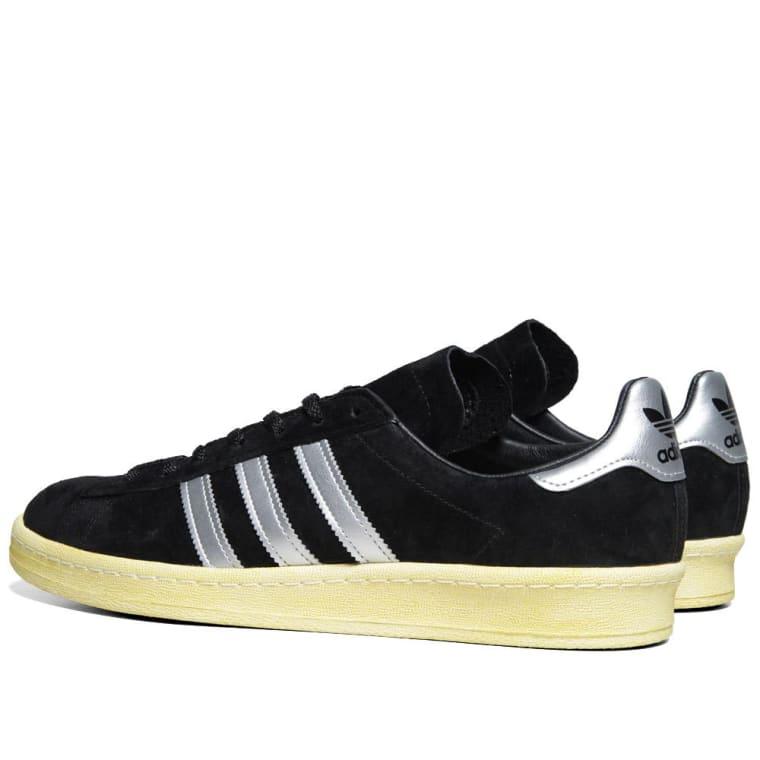 pretty nice 69d1c 8aad2 Adidas x Mita Campus 80s Black  Metallic Silver 3