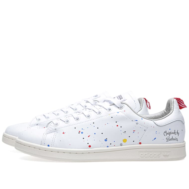 super popular 98d4d 3ab92 Adidas x Bedwin  The Heartbreakers Stan Smith Running White ...