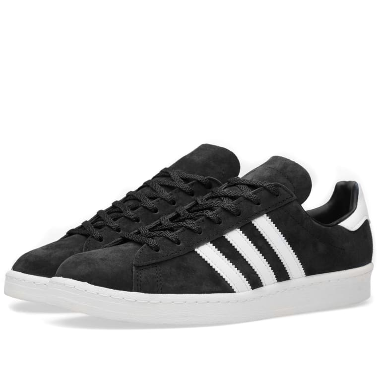 Adidas Campus 80s Vintage Japan (Core Black   White)  6f85fe4c6