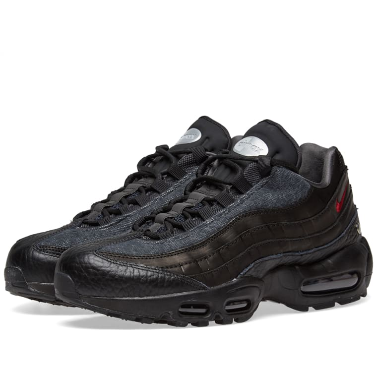 Nike Air Max 95 Nrg Black Red Anthracite End