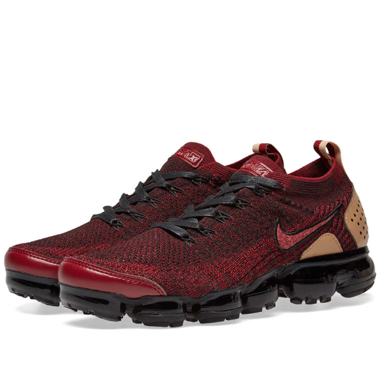 Nike Air Vapormax Flyknit 2 NRG Team Red, Black  Vachetta ...