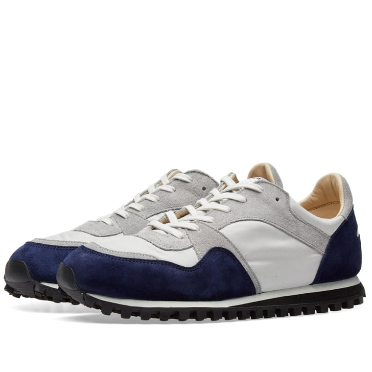 Spalwart Marathon Trail Low  Midnight Blue & Grey  1
