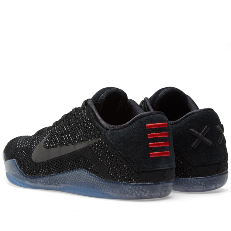 timeless design d2a4d abb21 ... switzerland nike kobe xi elite low triple black 6 e2d13 48a1b