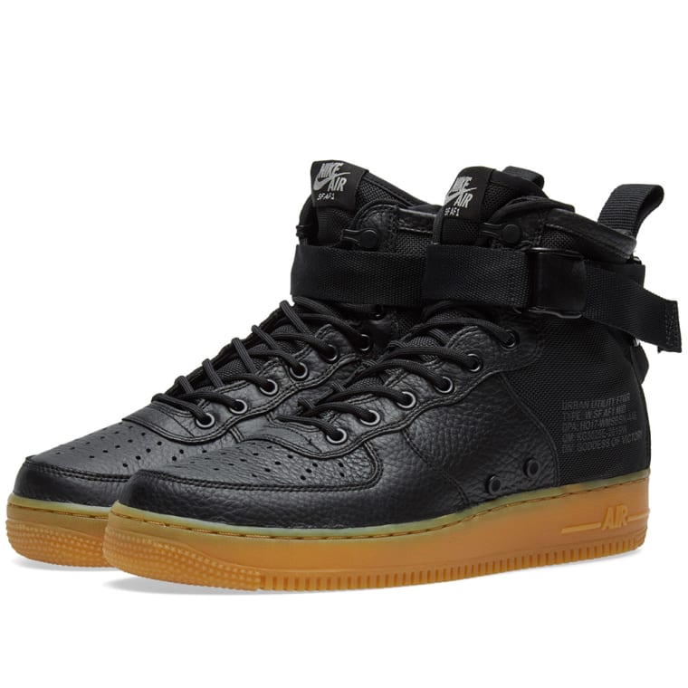 best website 31fd1 acd10 ... shopping nike sf air force 1 mid w black gum light brown 1 ca109 56b55