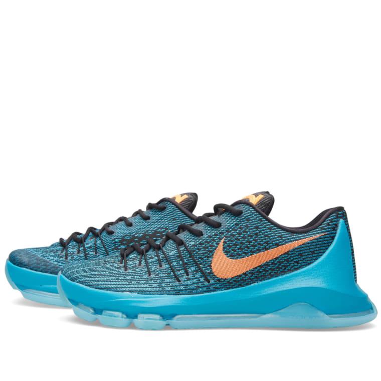 c211666d0c98 Nike KD VIII  Road Game  (Blue Lagoon   Bright Citrus)