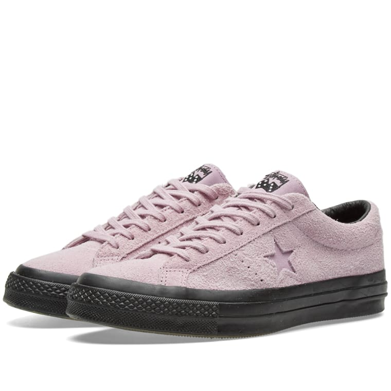 converse x stussy one star