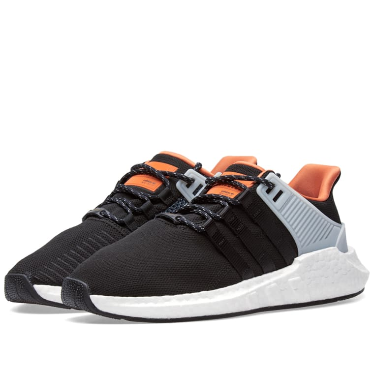 Givenchy Black EQT Support 93/17 Sneakers