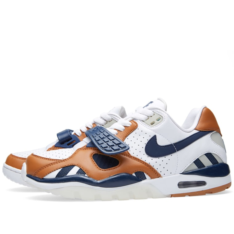 big sale e7c15 90db6 Nike Air Trainer SC II Low Premium  Medicine Ball  White   Midnight Navy 6