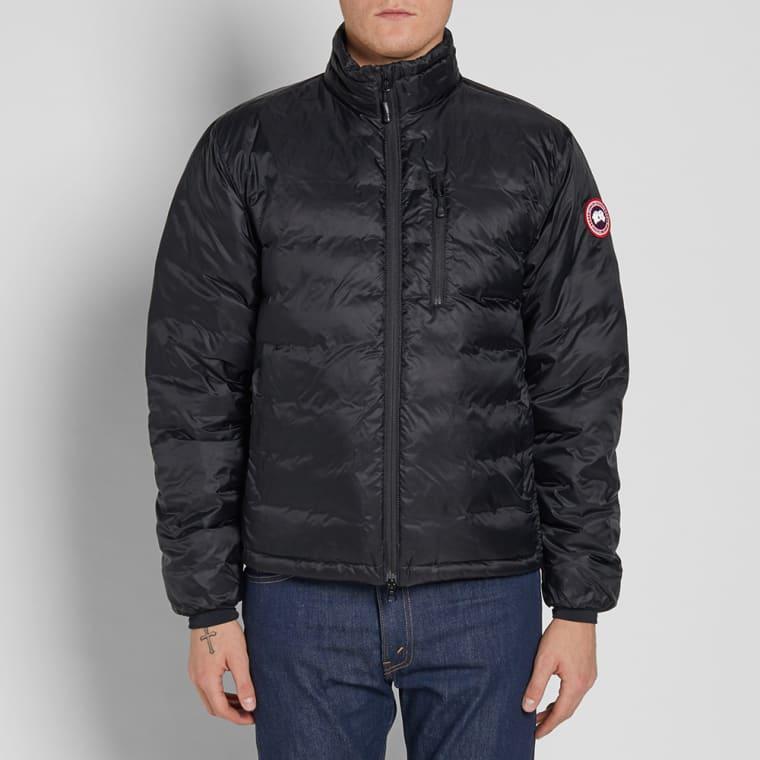 Canada Goose Lodge Jacket Black Amp Graphite End