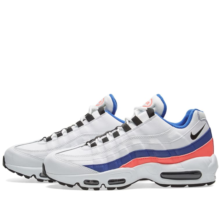sports shoes eca49 42f66 ... shopping nike air max 95 essential white black red marine 2 e45eb 8e75f