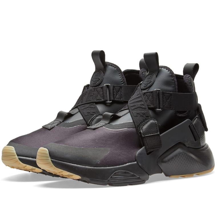 Black Air Huarache City Sneakers Nike