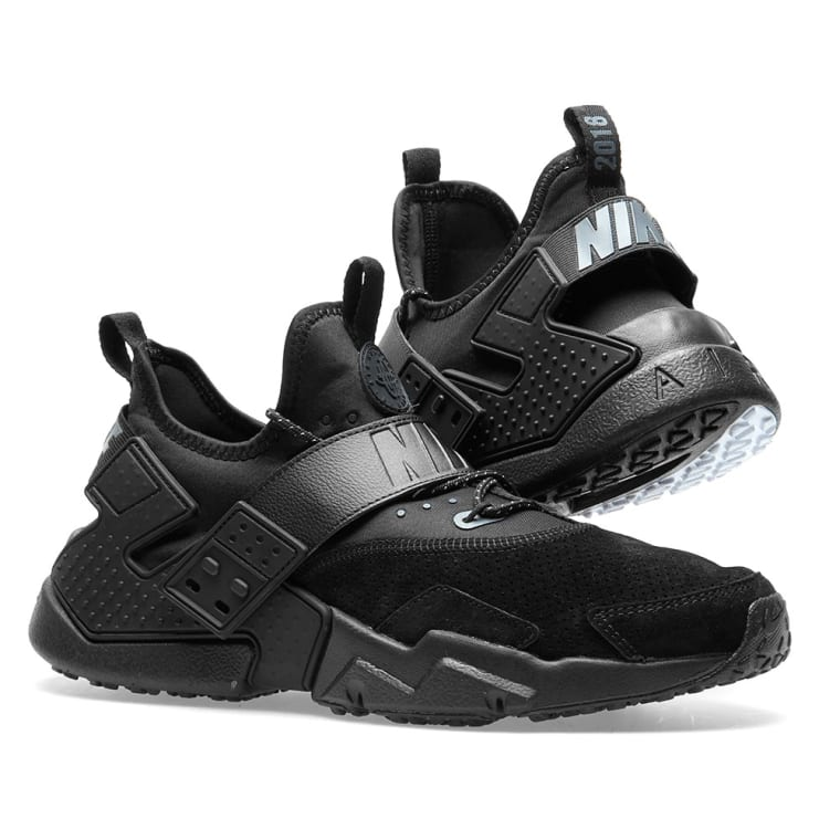 new products 8697a 7c92f Nike Air Huarache Drift Premium Black, Anthracite  u0026 White 7 ...