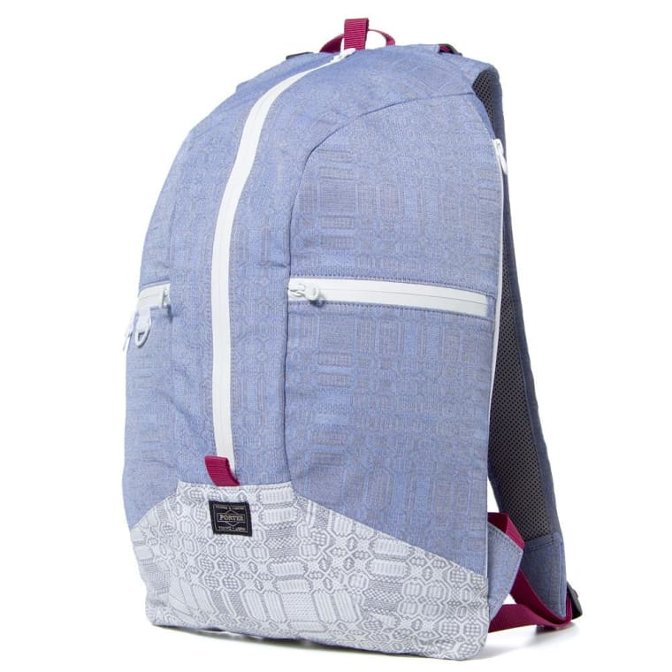 6b8a6fa830 ... White Mountaineering x Porter TC Jacquard Geometric Pattern Backpack  Blue 11 new products ead9c e41d6 ...