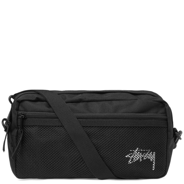 Stussy Stock Side Bag Black 1