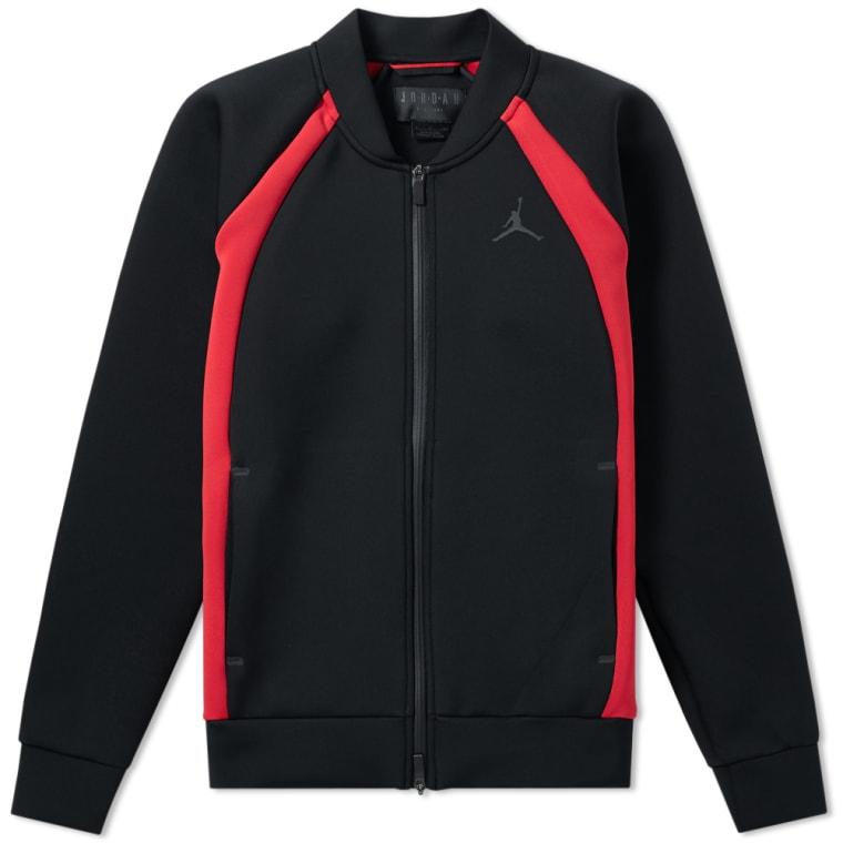 Nike Jordan Flight Tech Jacket (Black   Gym Red)   END. bcc4f781ba98