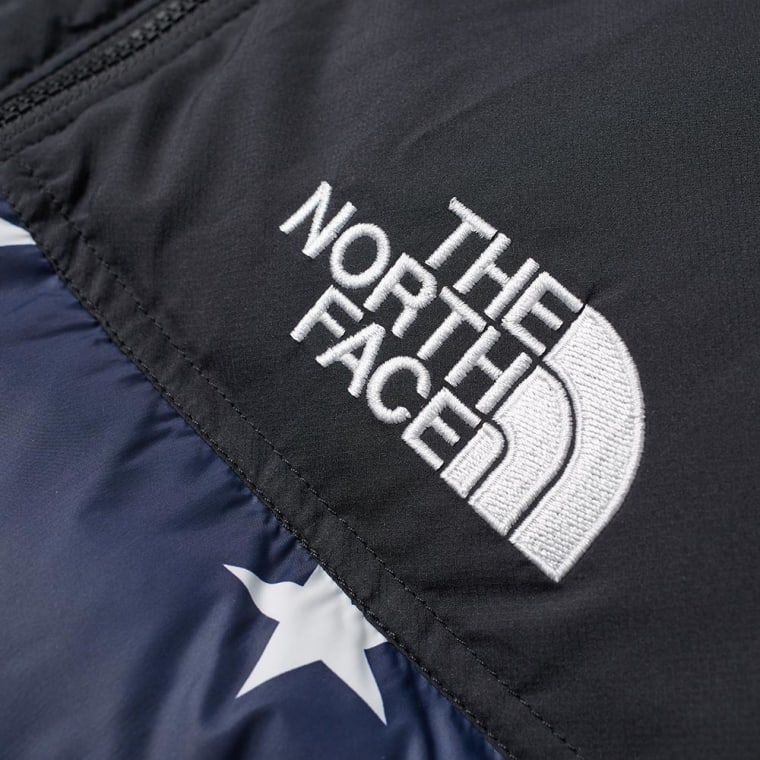 6b57a8ba0b2 closeout north face nuptse jacket cosmic blue 63ff7 ec1f1