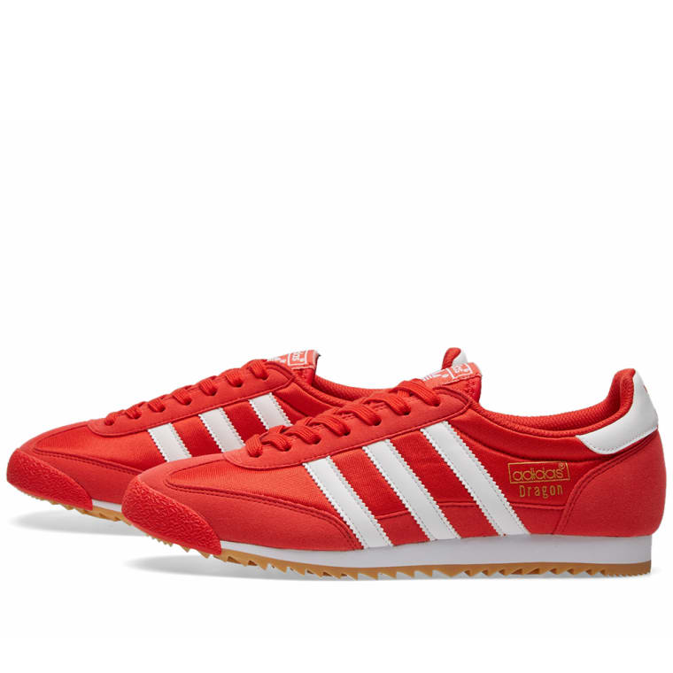 222a210a5ee Adidas Dragon OG (Red   White)