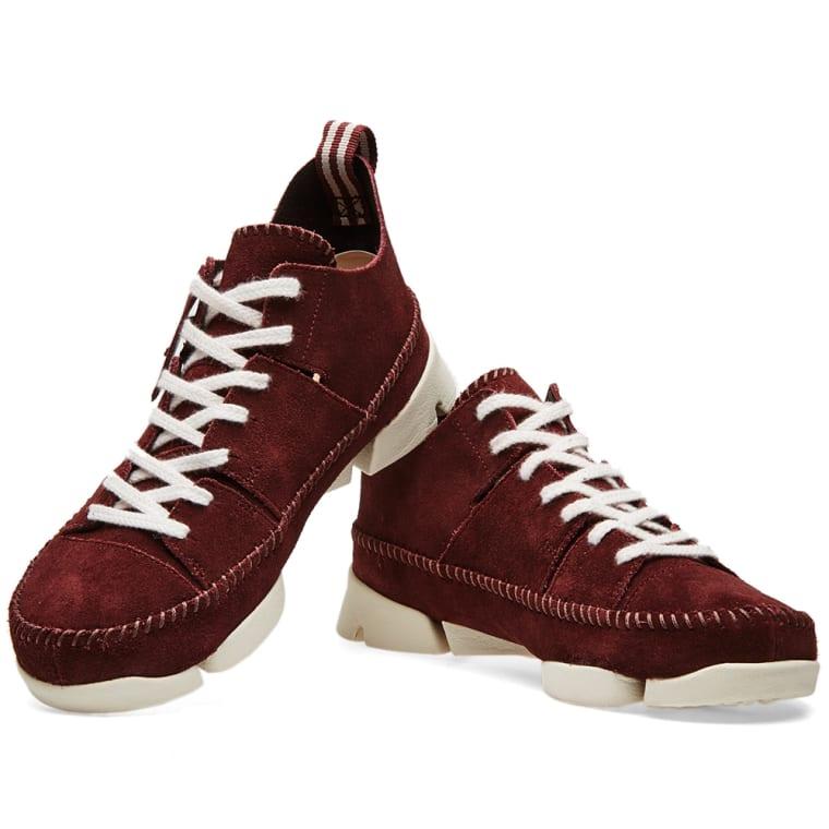sports shoes 42ed5 e2083 Clarks Originals Trigenic Flex Burgundy Suede Clarks Originals Trigenic Flex.  Burgundy Suede. AU175 AU95.