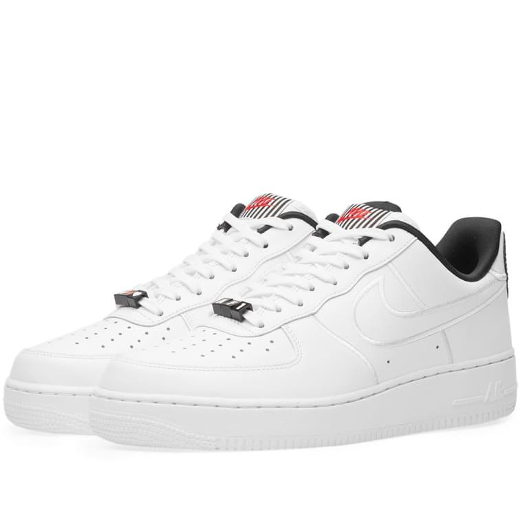 Saint Laurent White Air Force 1 '07 Sneakers