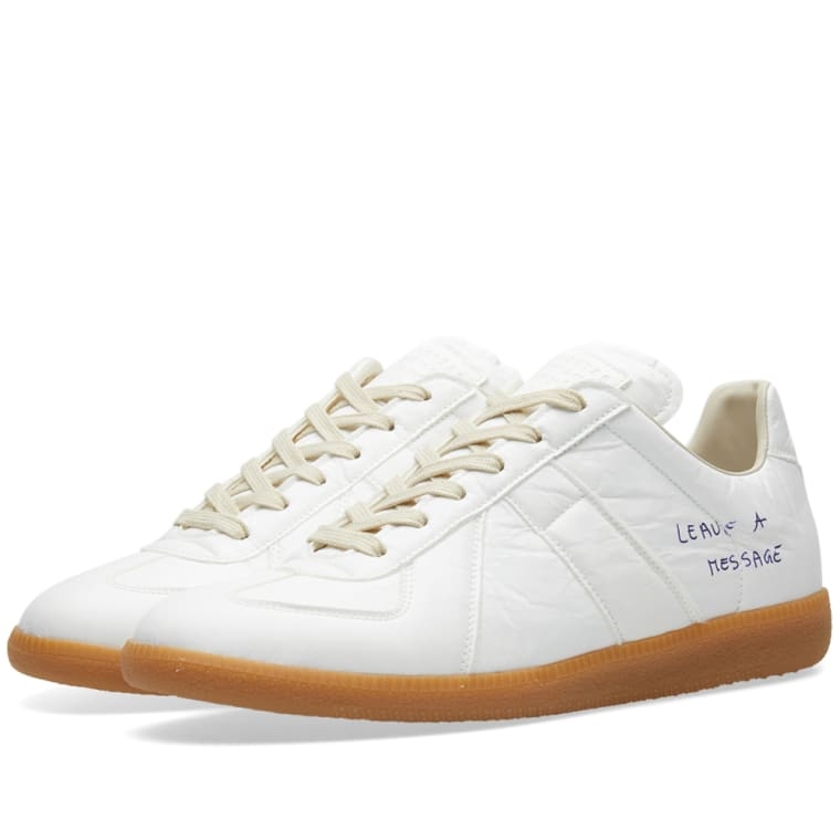 White Replica Pen Sneakers Maison Martin Margiela