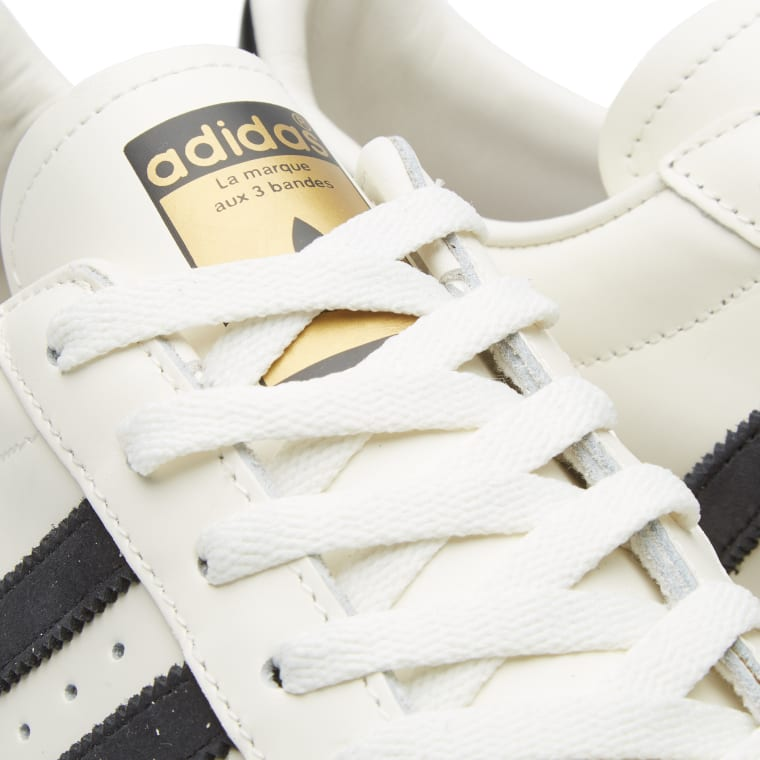 Spain Navy White Adidas Superstar 80s Vintage Deluxe Suede Shoes