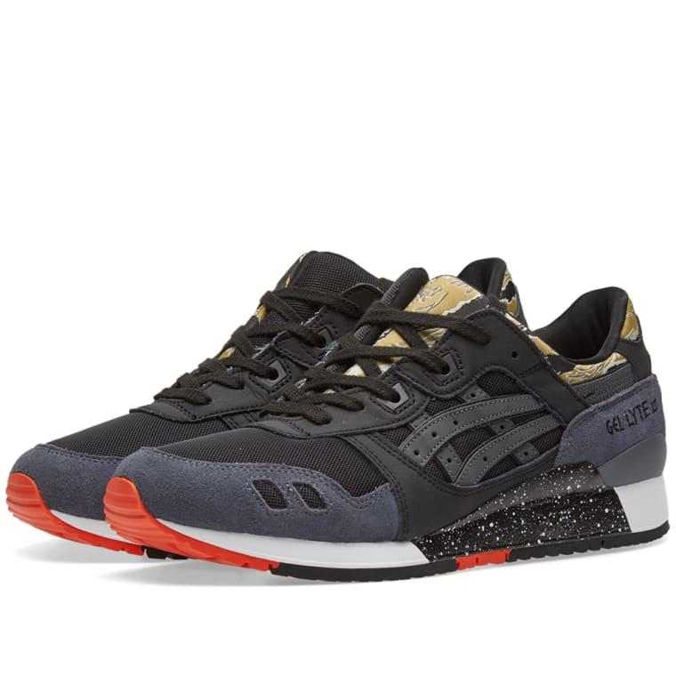 sports shoes d4898 cd0d7 denmark asics gel lyte 3 all black 3110e ee463