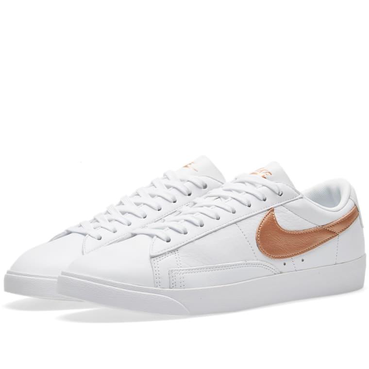 best cheap fab20 09ac5 Nike W Blazer Low Premium White  Metallic Red Bronze 1