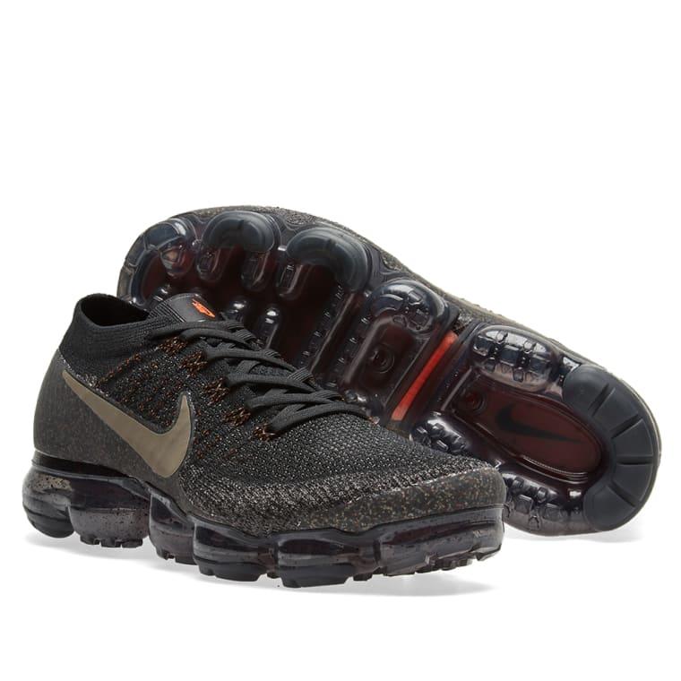... 899473-010 NikeLab Air Vapormax Flyknit Black Dark Mushroom 7 Black -  Nike ... 71d9c0af7ea1