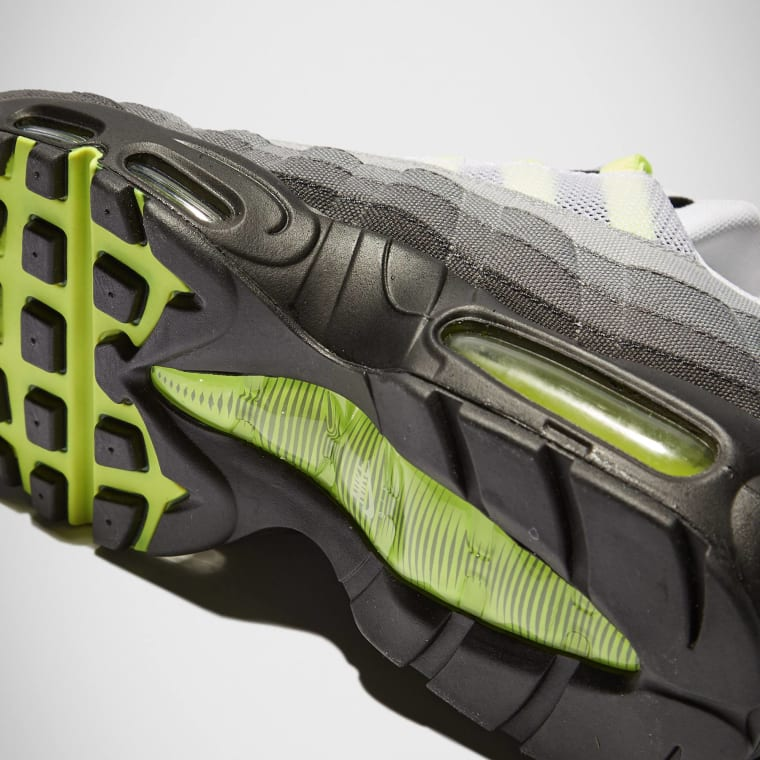 lowest price 6c41a 6b79c ... get nike air max 95 v sp patch white neon yellow black 1 07a3e 0ef47