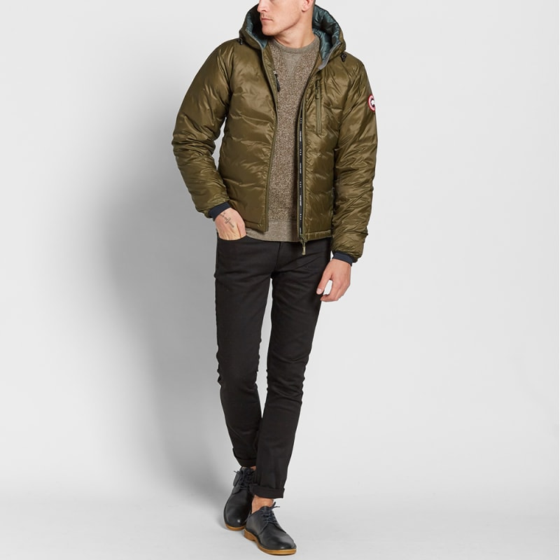 Lands' End sells shirts, pants, jeans, outerwear, and accessories for men, women, and children.
