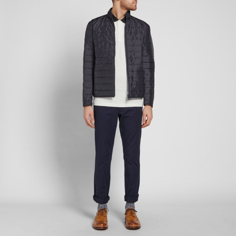 Barbour Upton Quilted Jacket (Navy) | END. : quilted cardigan - Adamdwight.com