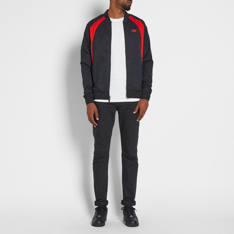 ae303cef26f885 Nike Air Jordan 1 Wings Jacket (Black University Red) END.