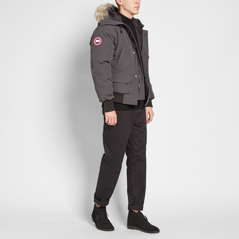befd3276a coupon code canada goose mens chilliwack bomber graphite 2cff3 9f959